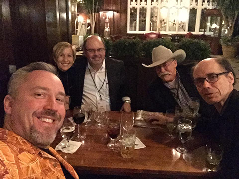 Rev in Indianapolis with Chris and Mindy Grall, John Gilstrap, and Jeffery Deaver